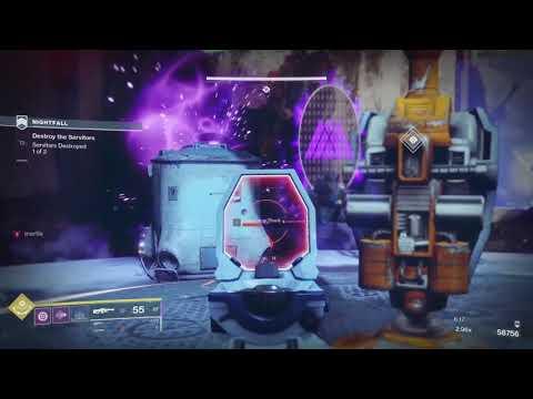 Destiny 2 - Solo 100k Nightfall: Exodus Crash (Warlock