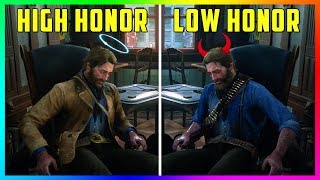 What Happens If Arthur Goes To The Doctor With HIGH Honor Vs LOW Honor in Red Dead Redemption 2?