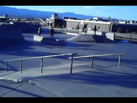 Briargate skatepark and Commerce city skatepark montage