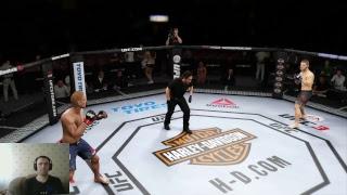 EA Sports UFC 3 / Карьера за Хабиба Нурмагомедова
