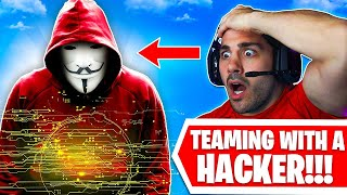 I Teamed With A HACKER on Warzone.. 😨 (I'm Sorry)