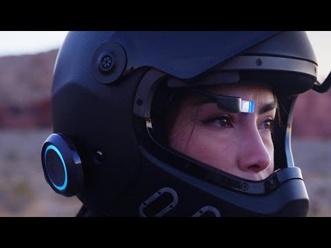 EyeRide HUD : Make Your Helmet Smart.-GadgetAny