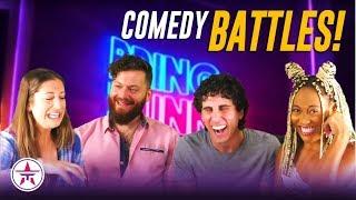 Comic vs. Comic: EPIC Comedy Battles! Who Wins? | Bring The Funny Recap w/Lewberger
