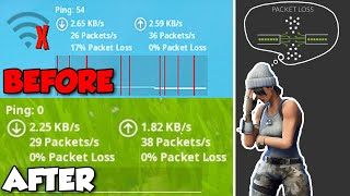 ✅ HOW TO FIX PACKET LOSS ON FORTNITE CHAPTER 2 (WORKING PC, PS4 & XBOX)
