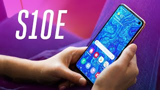 Samsung Galaxy S10E review: smaller, cheaper, better