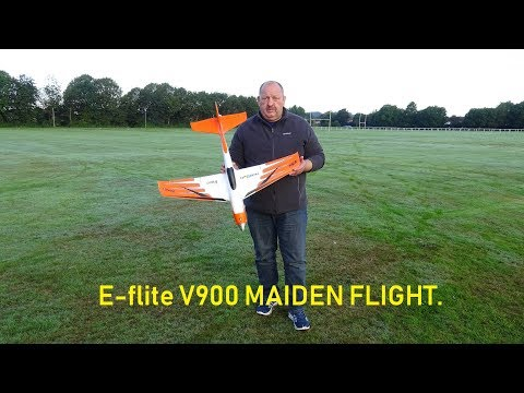 e-flite-v900-maiden-flight