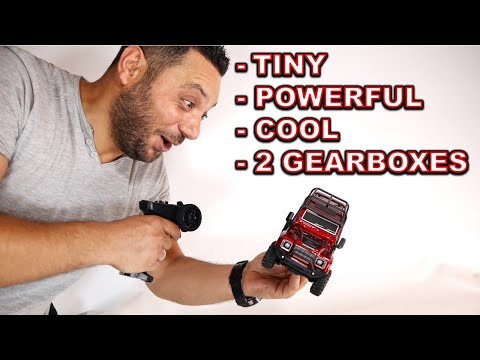 The Mini RC Crawler with 2 Gearboxes - RGT 136240 V2