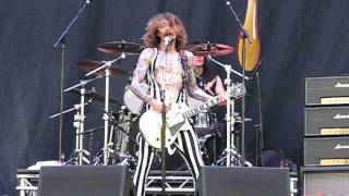The Darkness - Street Spirit (Fade Out) (Radiohead cover) (Live in Bucharest, Romania, 16.08.2012)