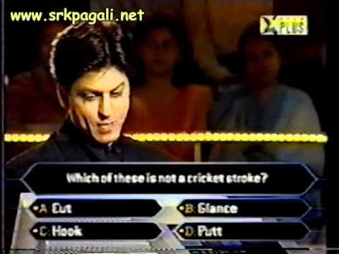 KBC srk as a contestant part 2: www.shahrukhs.com