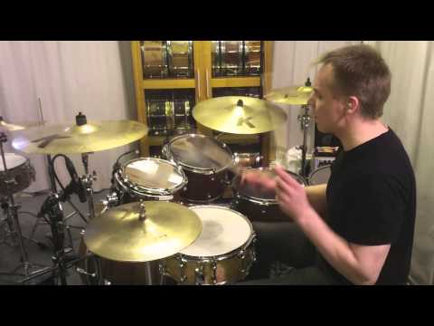 Earth, Wind & Fire - In The Stone (Drum cover) by Kai Jokiaho