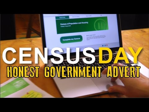 Honest Government Ad   CensusFail