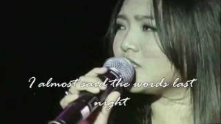 Charice - The Truth Is (Ballad Version) w/ Lyrics