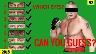 Can You Guess Which WWE Superstars EYES? [HD]
