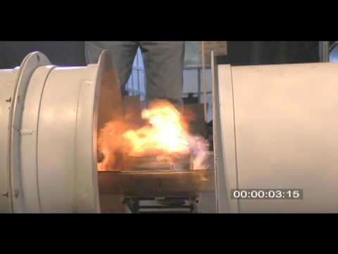 Watch A Machine Put Out A Fire WITH SOUND