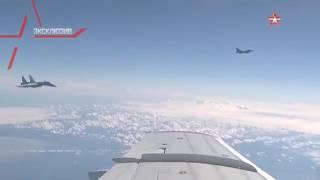 Су-27 отогнал истребитель НАТО от самолета Шойгу над Балтикой.