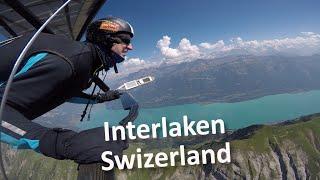 HANGGLIDING - Interlaken, Switzerland - free flying