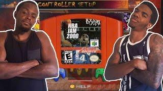 CRAZY LATE GAME RALLY!!! -NBA JAM 2000   #ThrowbackThursday ft. Juice