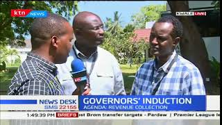 Governors meet in Kwale county as they tackle the issue of revenue collection and accountability