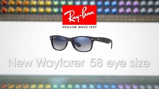Ray-Ban RB2132 New Wayfarer 58 Eyesize