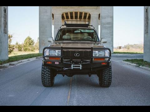 Excellent Lexus LX450 Fresh Expedition Off-road Build