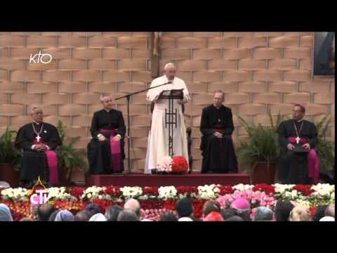Le Pape rencontre le monde de l'école et de l'université de l'Équateur