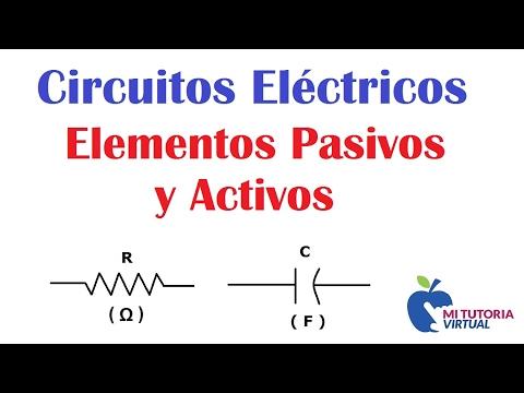 Elementos Pasivos y Activos de los Circuitos Eléctricos - Passive and Active Elements - Video 07