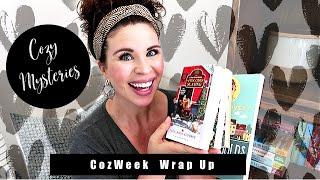 COZWEEK READATHON WRAP UP!! - COZY MYSTERIES