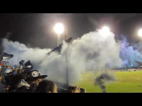 """""""los caudillos del parque vs Sarmiento (recibimiento al equipo) reducido 2019"""" Barra: Los Caudillos del Parque • Club: Independiente Rivadavia"""