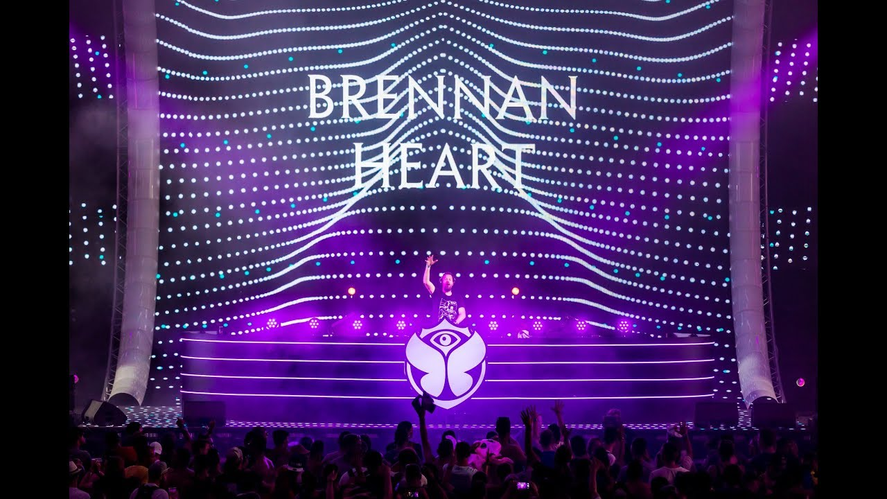 Brennan Heart - Live @ Tomorrowland Belgium 2018 Smash The House Stage
