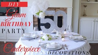 DIY Bling Centerpiece  | Bling Birthday Party decoration Ideas | DIY Party Decor