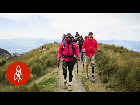 Unstoppable Amputees Climb a Volcano