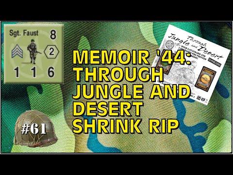 Memoir 44: Through Jungle and Desert Unboxing