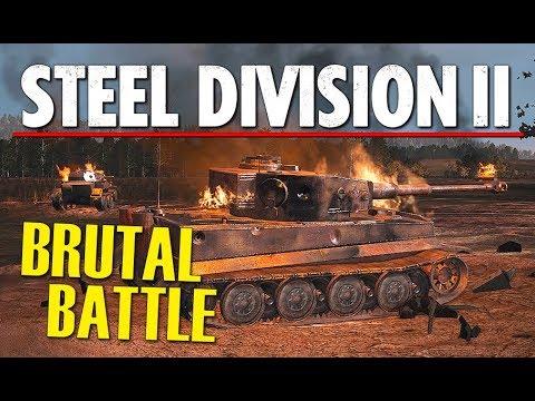 BRUTAL BATTLE! Steel Division 2 BETA Conquest Gameplay (Autobahn zur Hölle, 4v4)