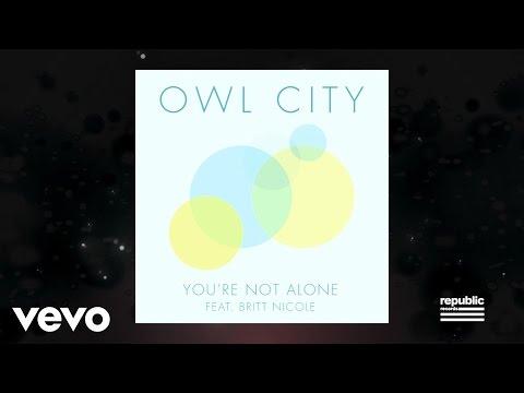 You're Not Alone (Lyric Video) [Feat. Britt Nicole]