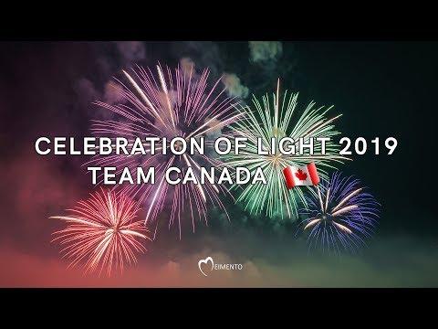 加拿大队夺冠!2019温哥华国际烟花节最美图集||视频 (可全屏) ... ...