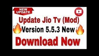 jio tv mod apk latest version 5-5-3 - Kênh video giải trí