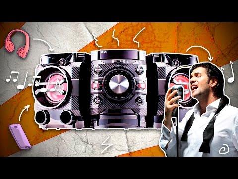Музыкальный центр LG DM5360K черный - Видео