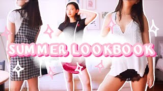 SUMMER LOOKBOOK 2020 | Nyc Casual Summer Outfits (brandy Melville, Aritzia, Yesstyle, H&m, Pacsun)