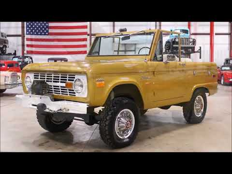 Video of '70 Bronco - MC75