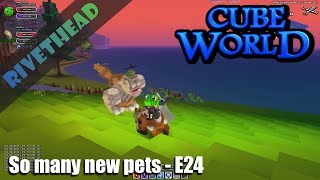 "Cube World Season 7 - E24- ""I need so many pet names!"""