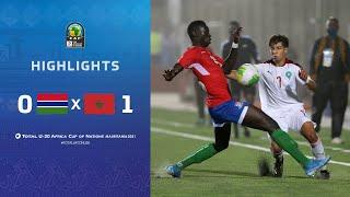 CAN U20 2021 | Groupe C : Gambie 0-1 Maroc