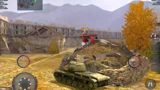 KV-1S Gameplay, fully upgraded, World of Tanks Blitz for iOS.