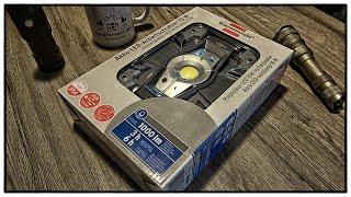 brennenstuhl Outdoor LED Arbeitsstrahler | 1000/500 Lumen | 4400 mAh | Powerbank | IP54