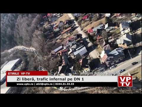 Zi liberă, trafic infernal pe DN 1