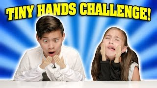 TINY HANDS CHALLENGE!!! How To Make a Paper Airplane with Super Small Hands!
