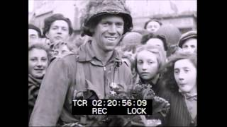 1944 75thAnniversary The 101st Airborne Division conducts an awards ceremony in Carentan