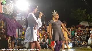 Woww Nyaris - Siska Ft Rara - Mawar Putih - Rogo Samboyo Putro Live Sambirejo Ngrajek Nganjuk