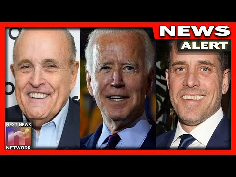Buckle Up: Rudy Guiliani Drops Bomb on Biden Family, New Documents Drop Today! - Must See Video