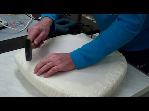 DIY Stuhlkissen - Polster - Bezug neu beziehen - Lilo Siegel