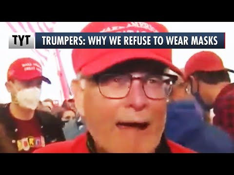 Trump Rallygoers: Why We Refuse To Wear Masks